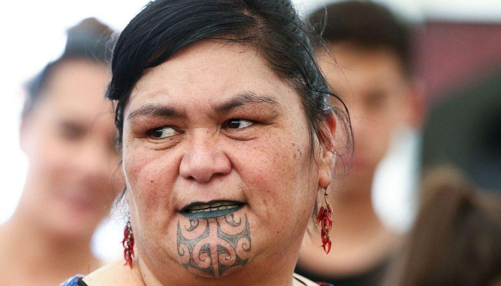 Nanaya Mahuta, New Zealand's Maori Minister of Foreign Affairs