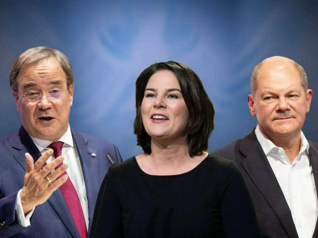Ob Armin Laschet, Annalena Baerbock und Olaf Scholz (r.) dabei sein werden, ist noch nicht bekannt. Foto: imago images/Sven Simon
