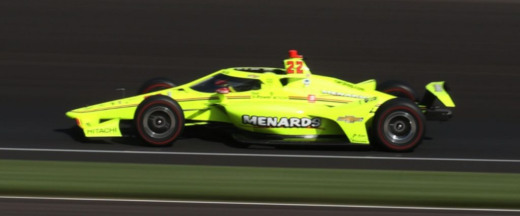 Pagenaud and Bordes in the back of the package