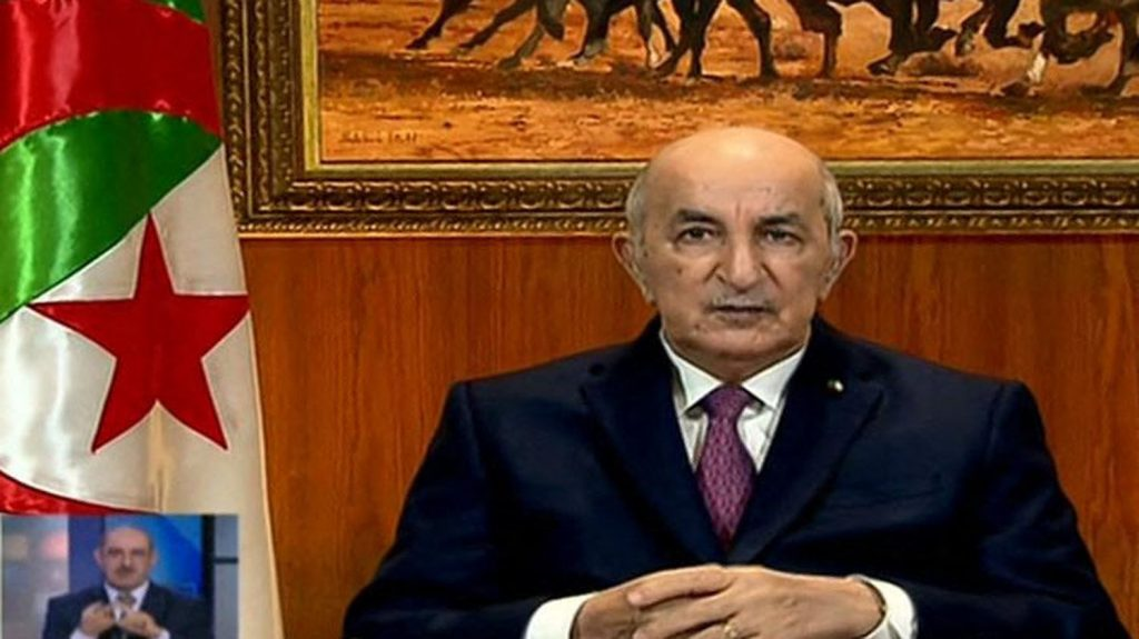 President Tebboune called on several Algerian companies to terminate their contracts with Moroccan companies