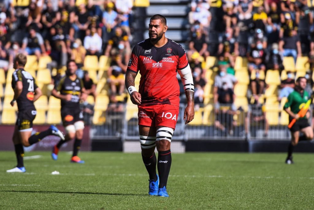 RC Toulon: Taofifenua added to the injured list