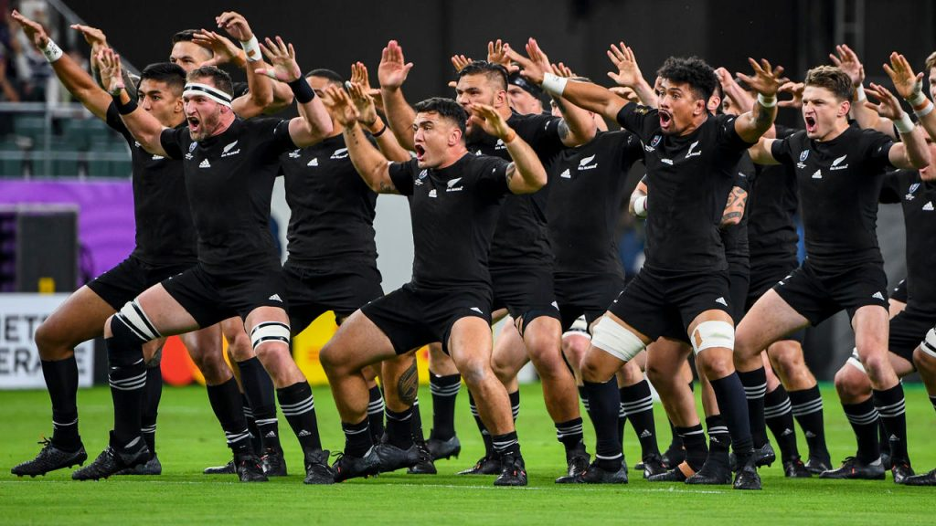 Rugby: New Zealand players unveil their All Blacks replacement