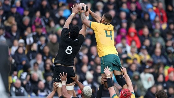 Rugby, show in Wellington: New Zealand and Australia end in a draw