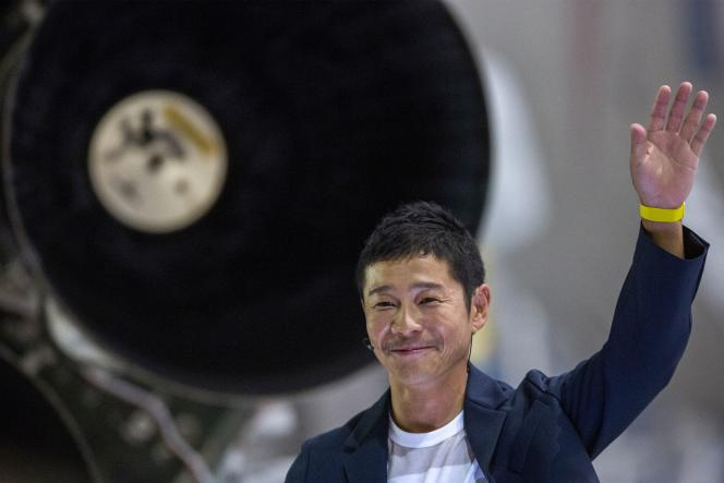 Japanese billionaire Yusaku Maezawa, who made his fortune from e-commerce, in September 2018.