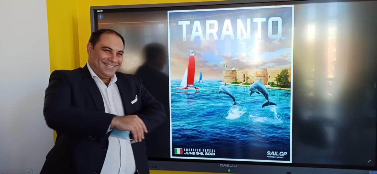 SailGP Taranto 2021 Milucci