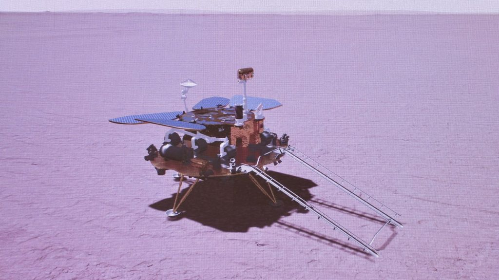Space: China has sent its robot to Mars