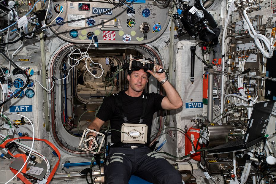 The International Space Station and Thomas Pesquet will fly over New Caledonia this Tuesday