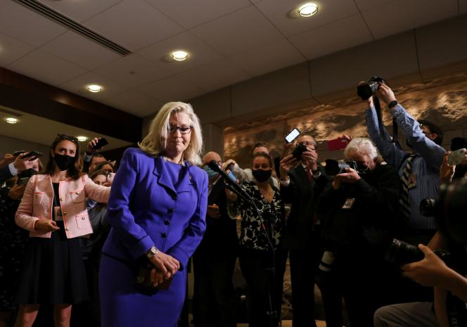 Liz Cheney, elected from Wyoming in Washington, May 12, 2021.