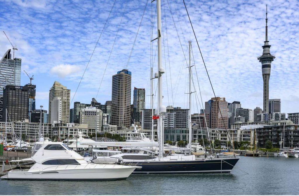 Auch in Auckland war das Erdbeben zu spüren. Foto: imago images/Design Pics/Keith