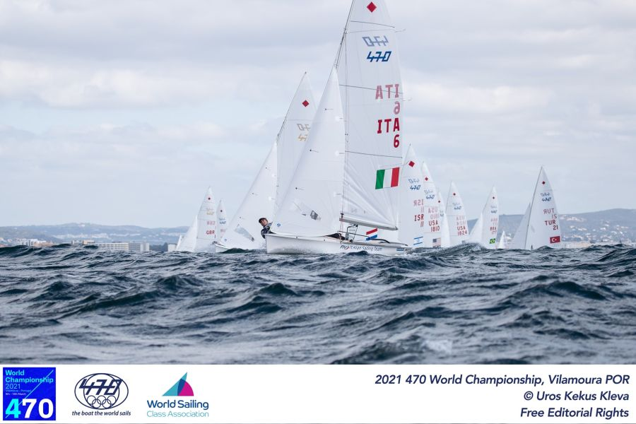 Vela and Berta-Caruso are still fighting for medals in 470 European Championships.  And they fell in the rating among Ferrari-Calabr men - OA Sport