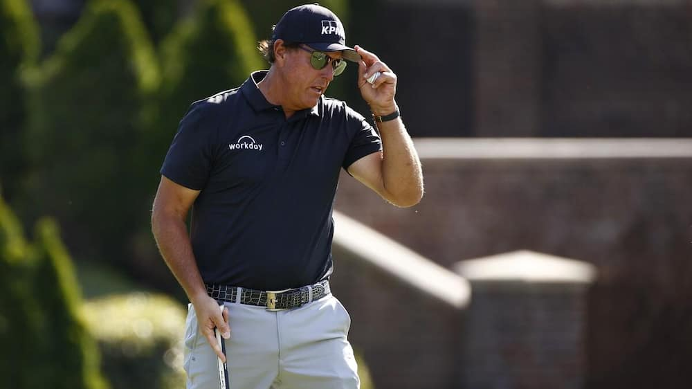 Wells Fargo Championship: Phil Mickelson takes the lead