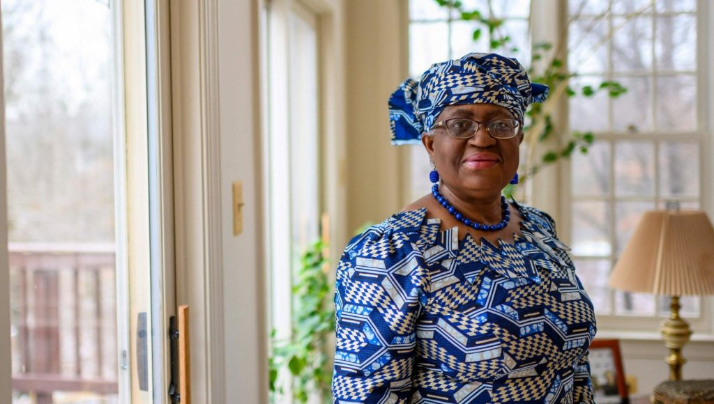 Wto, Ngozi Okonjo-Iwea New General Manager.  The first woman to lead the World Trade Organization
