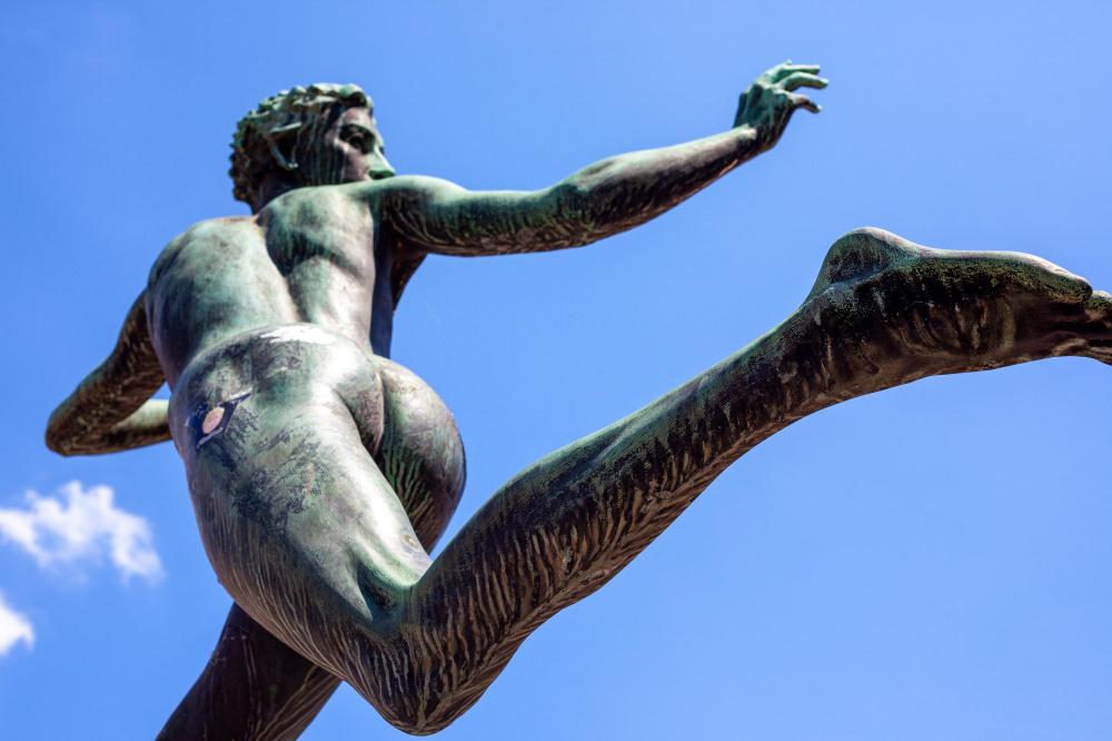 The nudist district of Paris is back at the Bois de Vincennes this summer