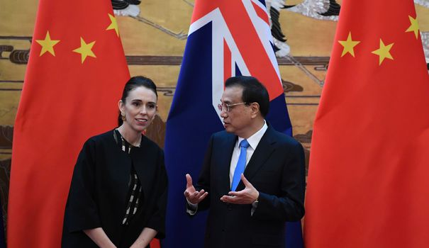 New Zealand: Jacinda Ardern admits there are differences with China