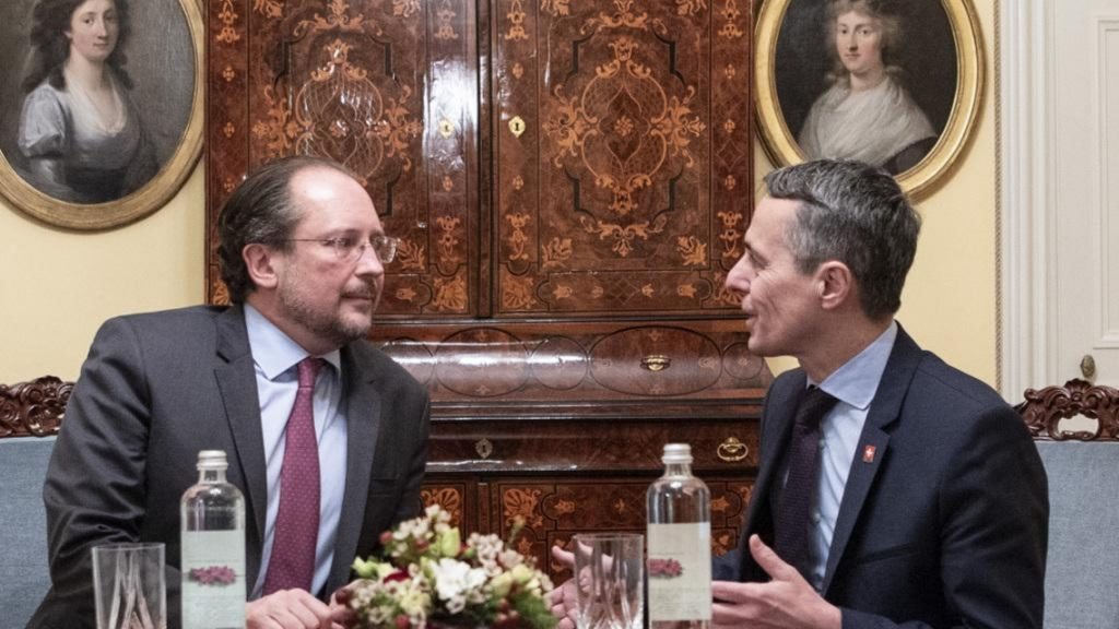 "Austria and Switzerland agree on a ""strategic partnership"""