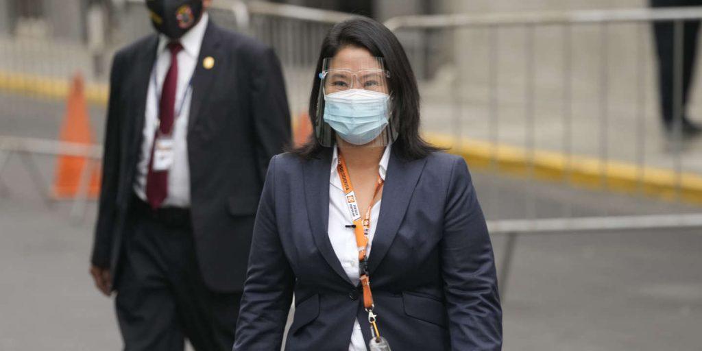 Keiko Fujimori is no longer in remand