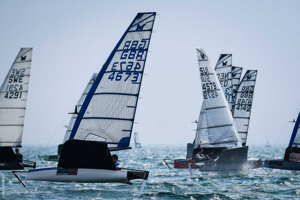 2021 FOILING WEEK Malcesine, a series of initiatives in the name of social commitment