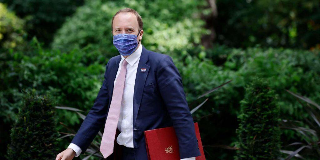 UK Health Secretary Matt Hancock resigns after breaking health rules