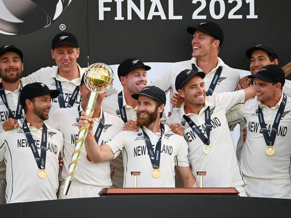 From New Zealand, who won the World Test Championship in the round of 16 Euro 2020