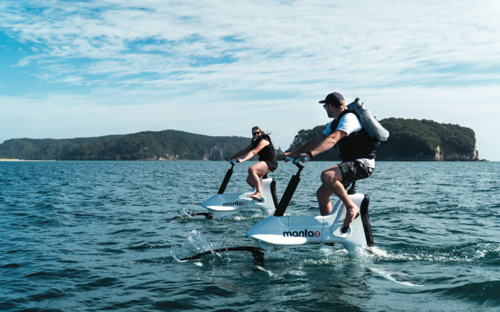 Aquaride will distribute the first e-bike that allows you to ride in the sea