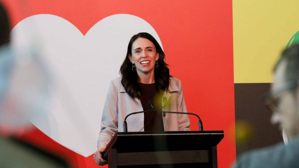Ardern criticizes China for violating human rights