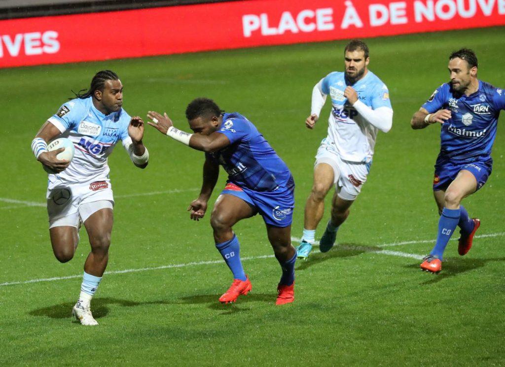 Aveyron Bayonne maybe without Ravovo against the French stadium