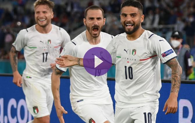 Euro 2020 - Italy crushes Turkey when it enters!