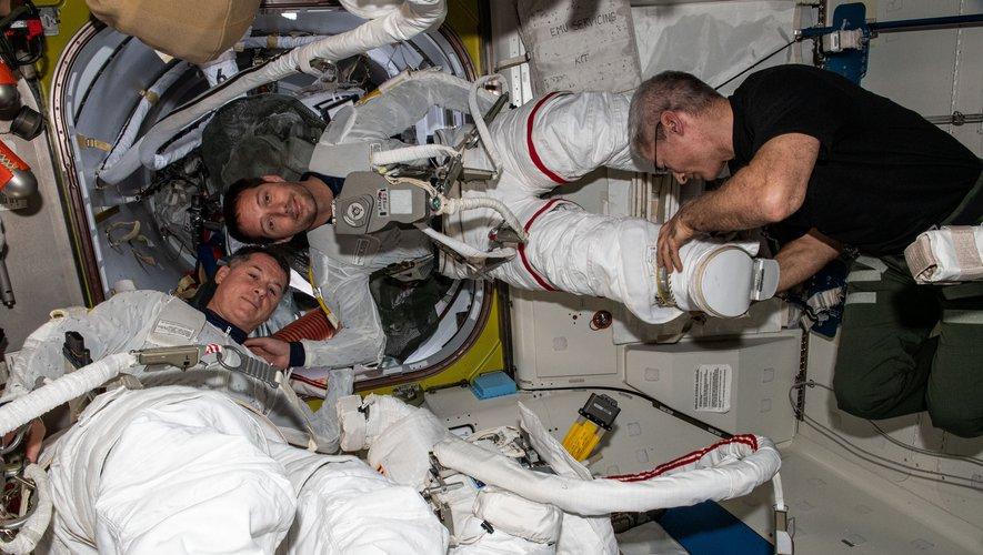 Follow Thomas Bisquet's second spacewalk