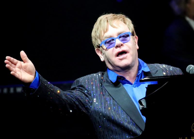 In Milan, Elton John's last Italian show was on tour on June 4, 2022