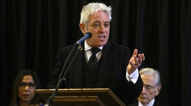 John Bercow, former Speaker of the House of Commons, leaves the Conservative camp