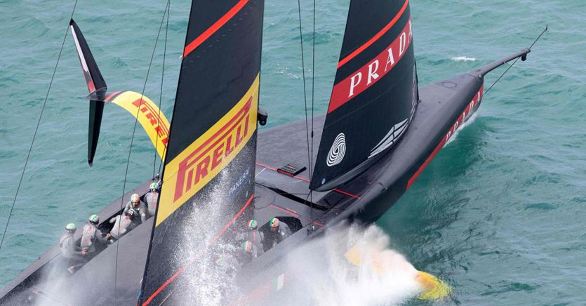 Luna Rossa bets 100 million euros in the America's Cup