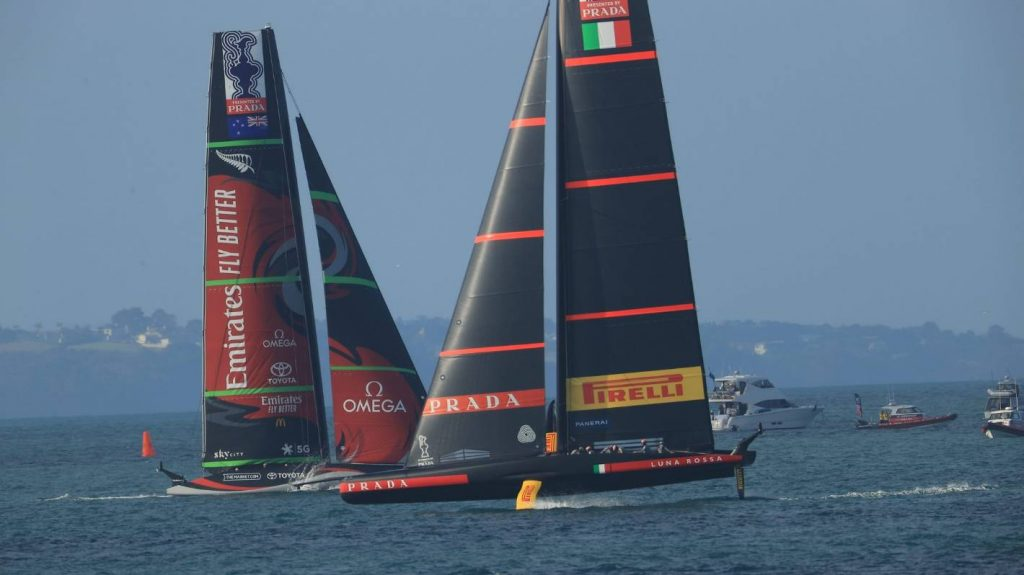 Luna Rossa sees the best chance to beat New Zealand