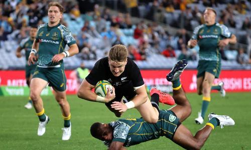 New Zealand's record win over Australia