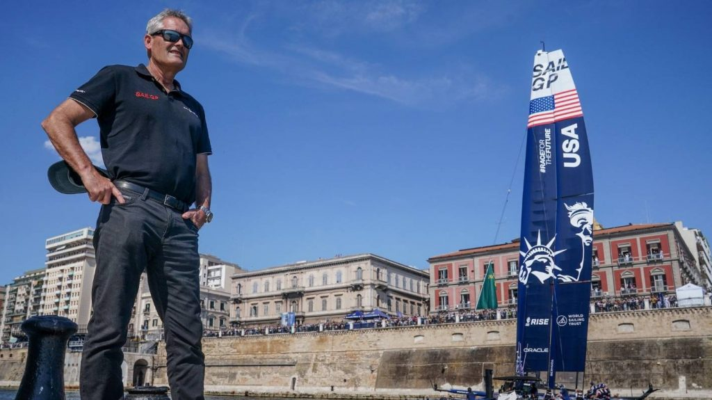 Sir Russell Coates is not Turnera in the Americas Cup