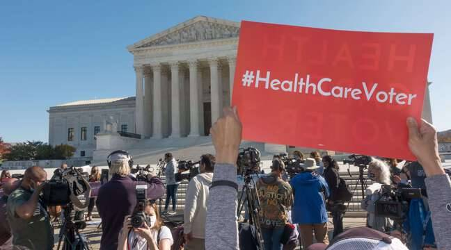Supreme Court Refuses to Drop 'Obamacare', Ex-President's Key Health Act