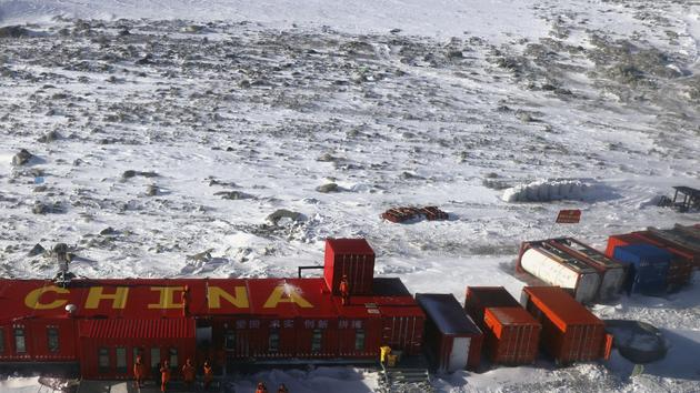 The Chinese extend their influence on the sea ice