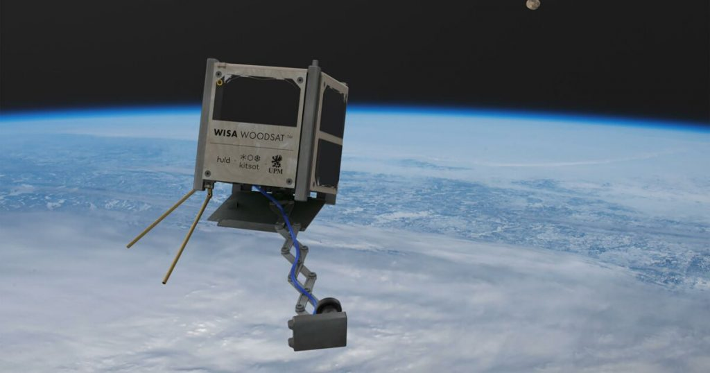The first wooden satellite could be launched into space before the end of the year