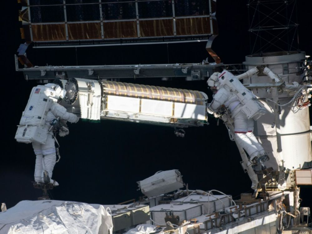 Thomas Pesquet embarked on his third spacewalk in just over a week