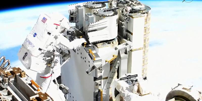 We tell you how Thomas Bisquet's spacewalk went