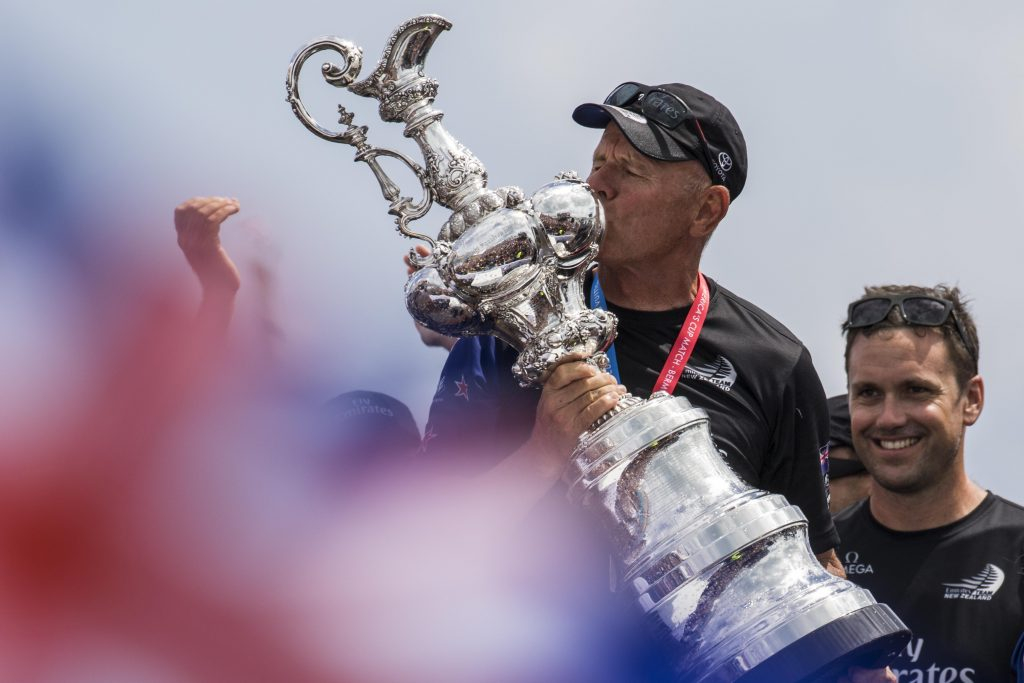 America's Cup 2021 has a master, it's New Zealander Grant Dalton