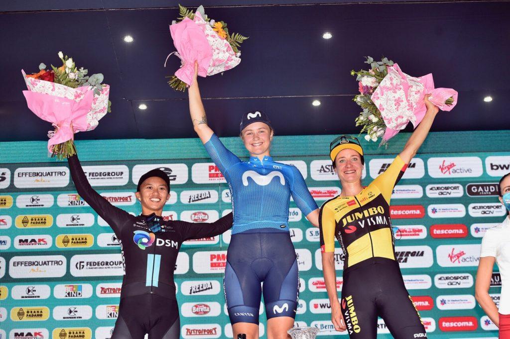 Giro d'Italia women, Emma Jorgensen triumphs on the longest stage