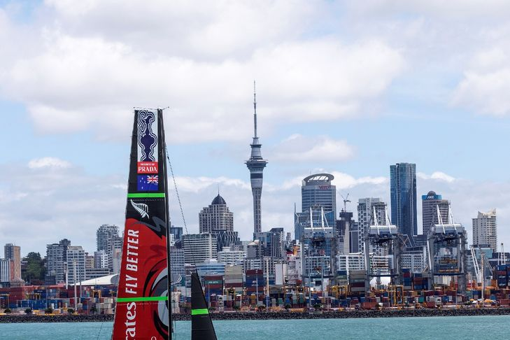America's Cup: New Zealand's massive challenge for the Italians