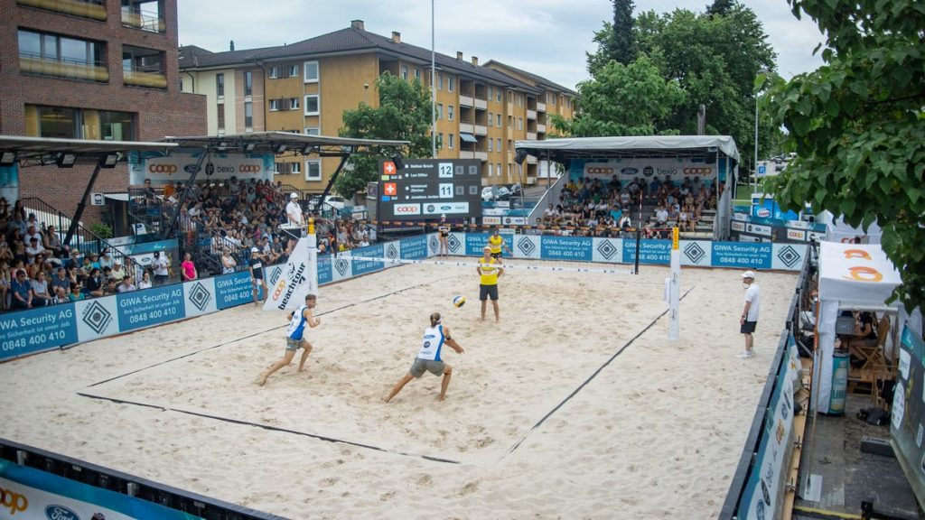 All important information about the Coop Beach Tour in Basel