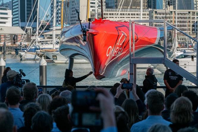 Coppa America: New Zealand vara la nuova barca