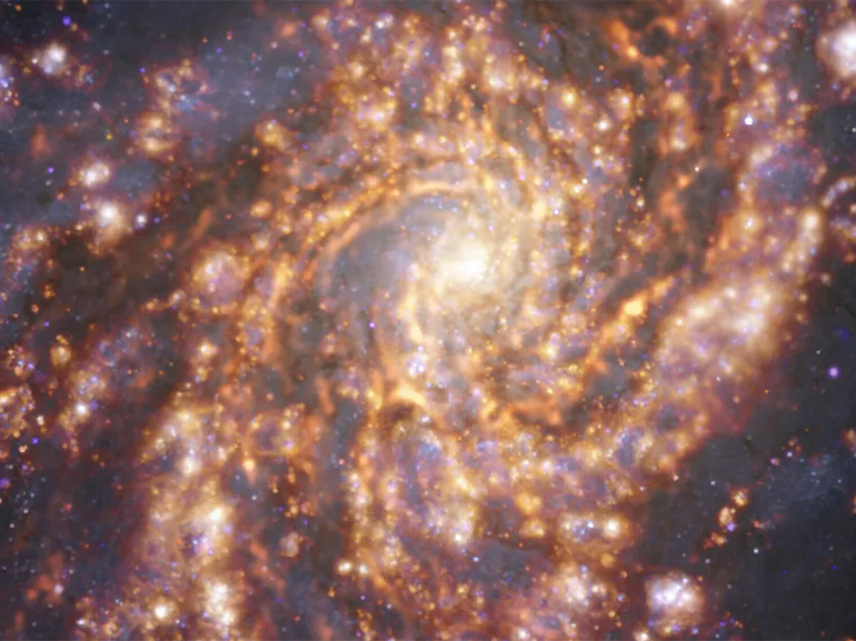 Space: The European Southern Observatory has just published fantastic images of 'neighboring' galaxies