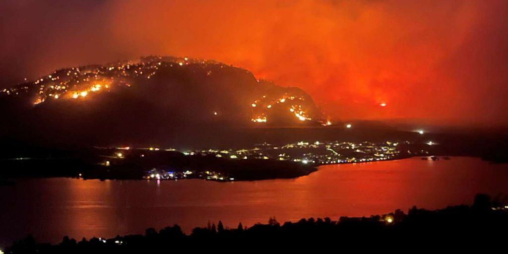 Western Canada is in a state of emergency due to the escalation of fires