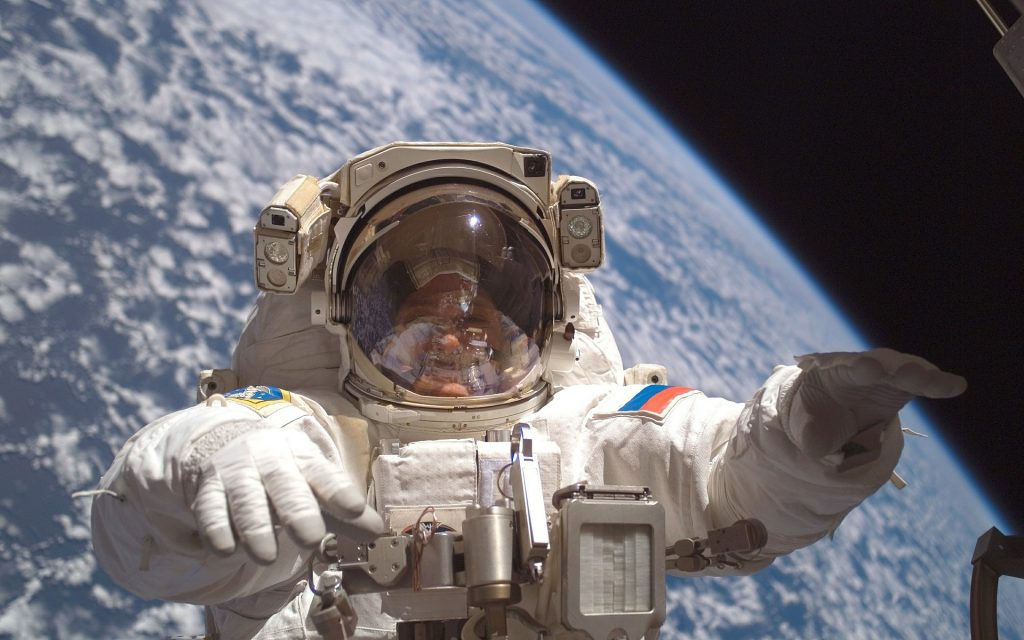 Just because you're in space doesn't necessarily mean you'll be an astronaut