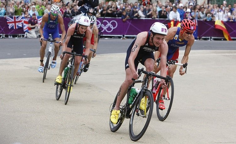 Blumenfelt, Norway's gold medalist.  Great Britain second and New Zealand third