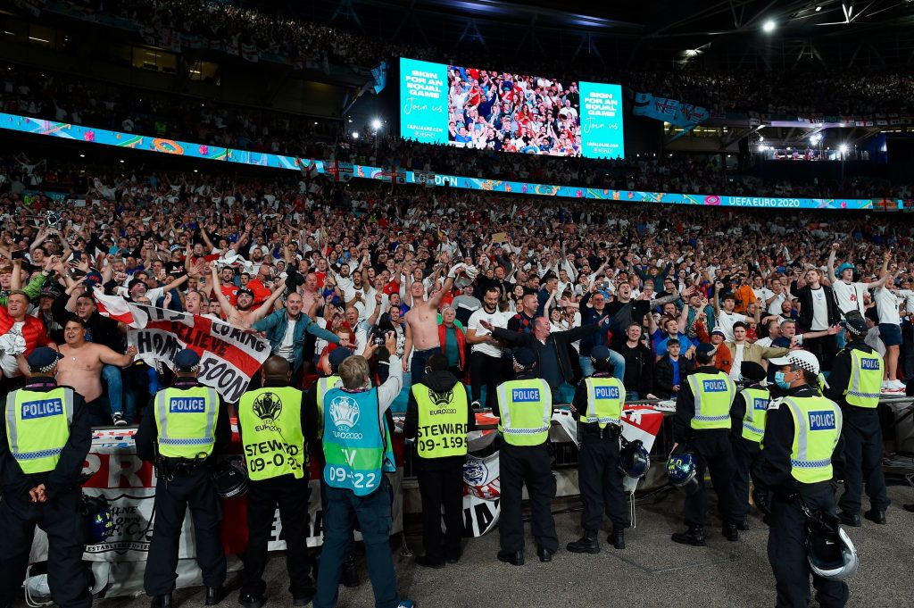 '60,000 at Wembley? So Covid is spreading'