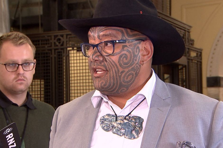 A Maori MP was expelled from Parliament for refusing to tie